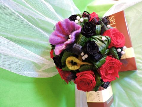 Brautstrauß rote Rosen