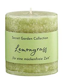 Anti Mücke: SCHULTHESS Duftkerze SECRET GARDEN Lemongrass